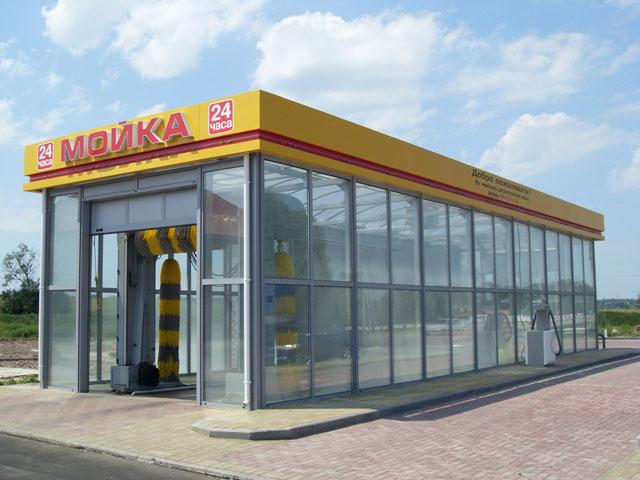 Комплексное рекламно-информационное оформление нового автозаправочного комплекса 'Овис'
